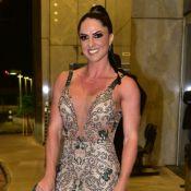 Graciele Lacerda comenta encontro com Zilu em casamento: 'Todo mundo resolvido'