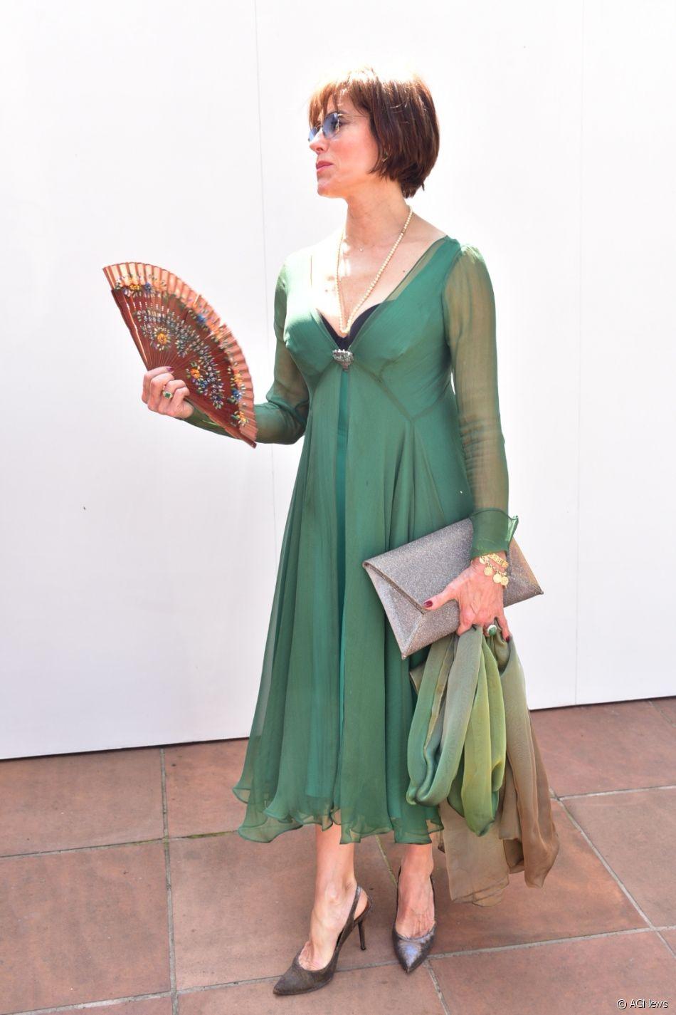 Vestido para casamento na cor verde