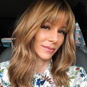 Ana Furtado cortou franja por queda de cabelo: 'Perdi na frente, lateral e nuca'