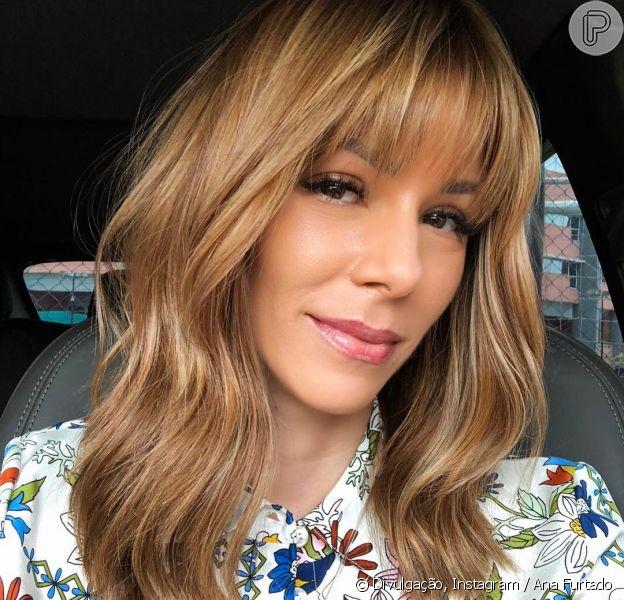 Em tratamento contra o câncer, Ana Furtado cortou franja por queda de cabelo