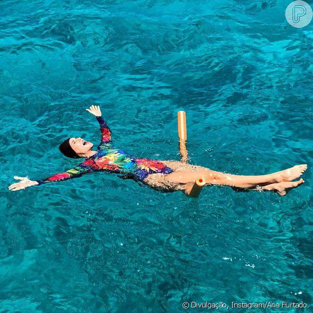 A apresentadora Ana Furtadom, durante o tratamento de câncer de mama, não abriu mão de praticar atividades físicas que a divertiam