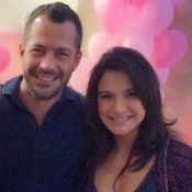 Malvino Salvador e Kyra Gracie recebem amigos em chá de bebê: 'Maravilhoso'