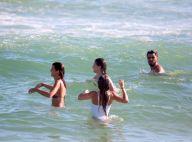 Amizade pós-novela! Atores de 'Orgulho e Paixão' se divertem em praia. Fotos!