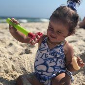 Fofura na água! 5 looks moda praia de Madalena, filha de Gissoni e Yanna Lavigne