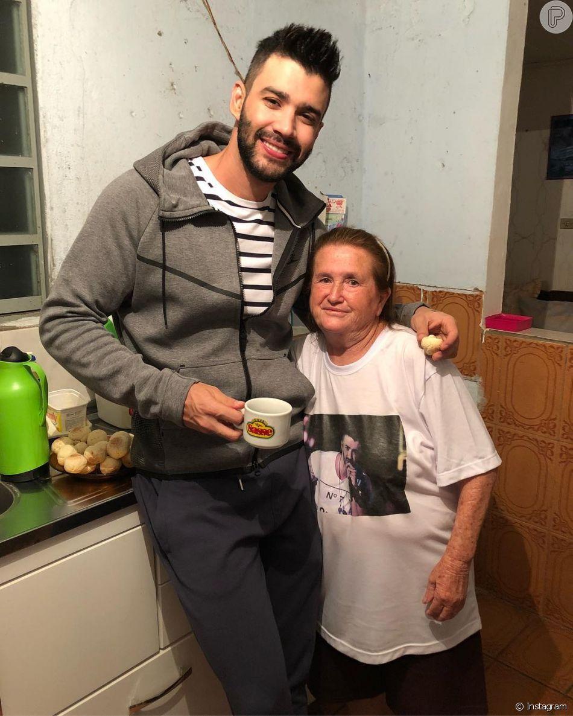 Gusttavo Lima visitou a casa de uma fã em Maringá, neste sábado, 6 de outubro de 2018
