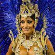 Aline Riscado, dançarina do 'Domingão do Faustão', não é mais rainha de bateria da Caprichosos de Pilares