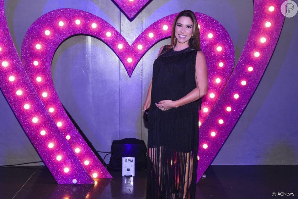 Patricia Abravanel anuncia gravidez, 8 meses após filha Jane nascer, nesta quarta-feira, dia 09 de outubro de 2018