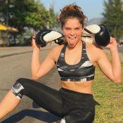 Isabella Santoni aumenta ingestão de carboidratos para ganhar músculos. Entenda!