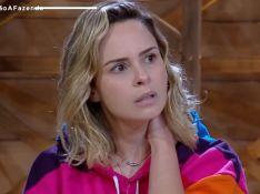 'A Fazenda': eliminada, Ana Paula se diz aliviada e critica Nadja: 'Pior pessoa'
