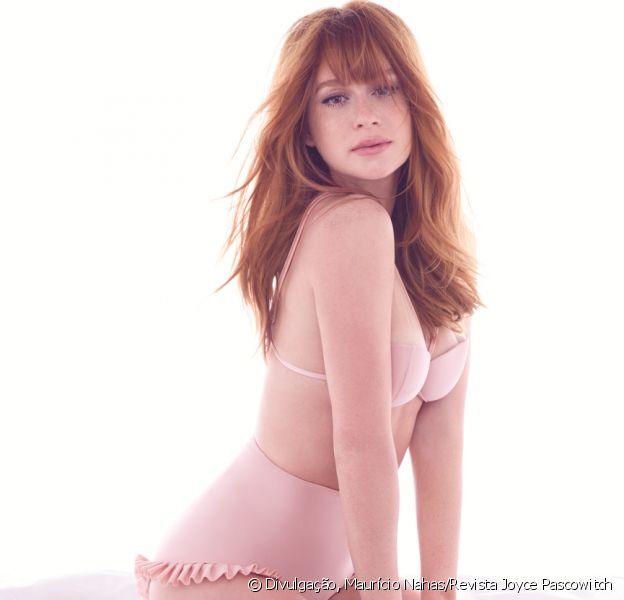 Marina Ruy Barbosa posta foto de lingerie nude e ganha elogios: 'Boneca viva'