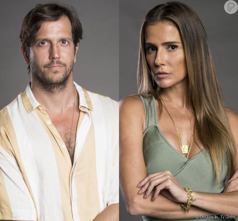 Karola (Deborah Secco) vai terminar com Remy (Vladimir Brichta) na novela 'Segundo Sol', em 15 de outubro de 2018