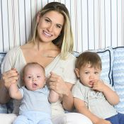 Andressa Suita cita mudança após ser mãe: 'Amar o outro, mais que a nós mesmos'