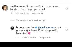 Bruna Marquezine nega Photoshop em foto de maiô: 'Você gostaria, mas não é'