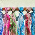 Aposte no visual com lenço nos cabelos para disfarçar efeitos da quimioterapia