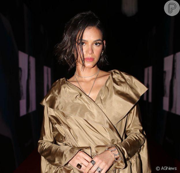 Bruna Marquezine anuncia término de namoro com Neymar em evento nesta quinta-feira, dia 18 de outubro de 2018