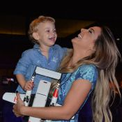 Davi Lucca, filho de Neymar, comemora 3 anos em festa do filme 'Carros'