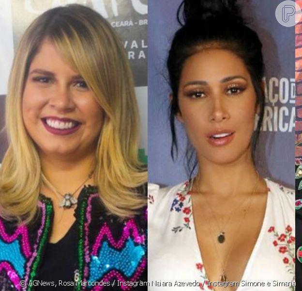 Antes e depois: veja fotos de cantoras que mudaram corpo com dieta, treino e cirurgias