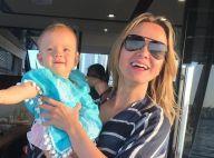 Em viagem, Eliana faz chamada de vídeo com Manuela: 'Quando a saudade bate'