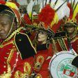 Cleo Pires defende a escola de samba Grande Rio