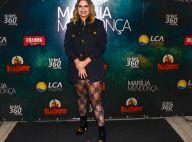 Look rocker e sexy: Marília Mendonça usa short curto com meia de renda em show