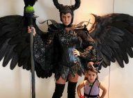 Fofa! Deborah Secco mostra a filha fantasiada em festa de Halloween: 'Bruxa má'