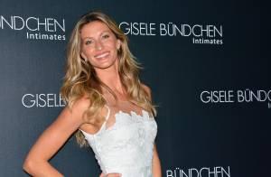 Gisele Bündchen lança sua coleção de lingerie em São Paulo