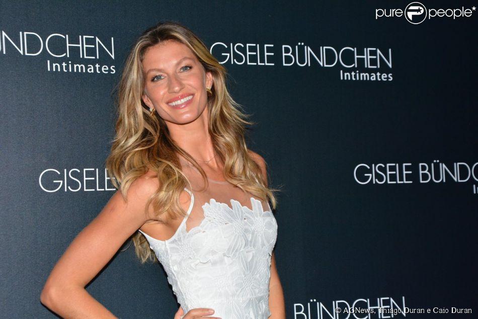 985d1e1de Gisele Bündchen lança coleção de lingerie de sua marca Gisele Bündchen  Intimitaes em São Paulo