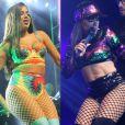 Veja fotos do antes e depois da cantora Anitta, que apareceu com o corpo seco no clipe do hit 'Paradinha'!