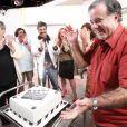 'A Grande Família': Tony Ramos ganhou uma surpresa de Daniel Filho e dos outros integrantes da série