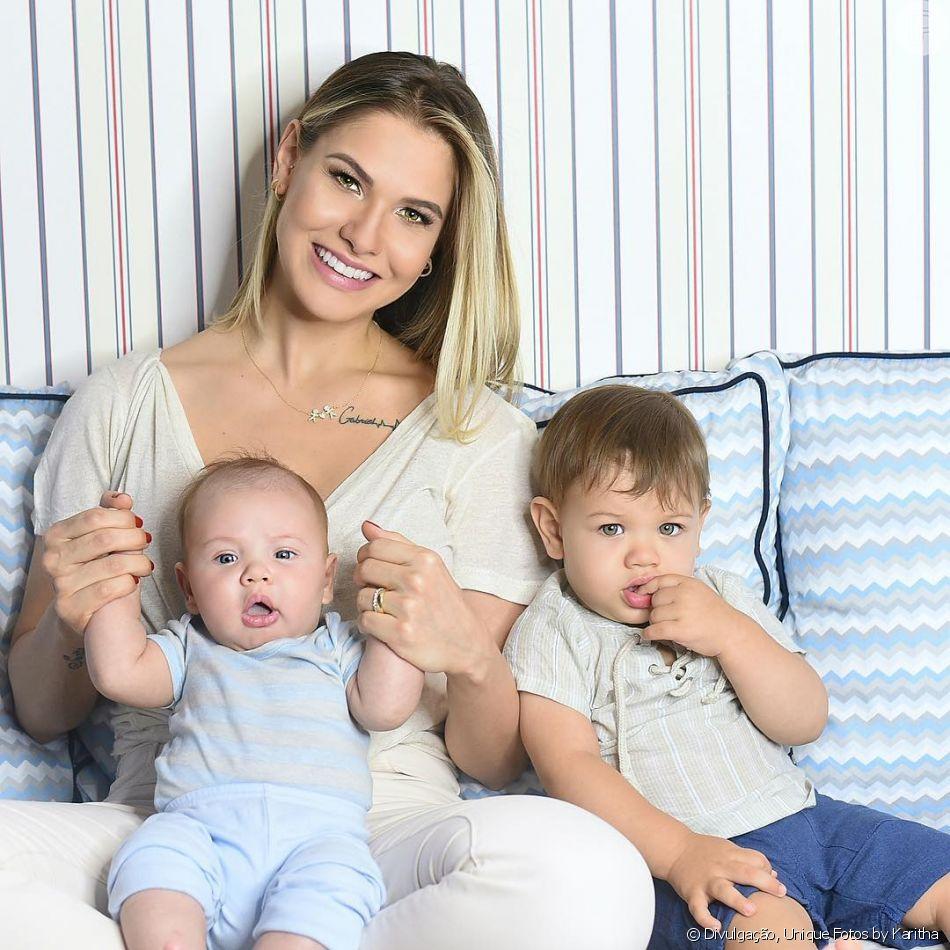 Andressa Suita justifica ausência da web por filhos nesta quarta-feira, dia 31 de outubro de 2018