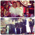 Xuxa publica fotos do Carnaval de 2013 com Junno Andrade