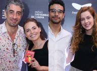 Noite dos casais! Letícia Colin e Sophia Abrahão levam seus pares ao cinema