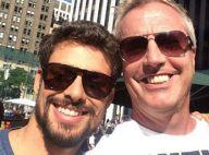 Cauã Reymond chega a Nova York para apresentar o 'Brazilian Day'