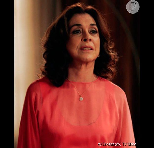 Madalena (Betty Faria) conta para Fernando (Marco Ricca) que Vitória (Bianca Bin) não é sua filha biológica, em 'Boogie Oogie', em 8 de setembro de 2014