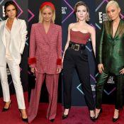 Famosas divergem estilo e alfaiataria é destaque em red carpet de prêmio. Looks!