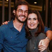 Fátima Bernardes vibra por 'recorde de dias' junto com namorado, Túlio Gadêlha