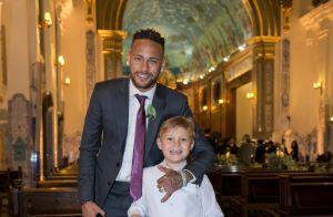 Filho de Neymar, Davi Lucca diverte o pai com dancinha em look Balenciaga. Vídeo
