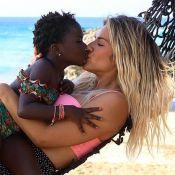 Giovanna Ewbank brinca de cozinha com a filha, Títi: 'Sopa de amora'. Vídeo!