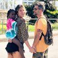 Giovanna Ewbank recentemente homenageou a filha, Títi, com uma tatuagem