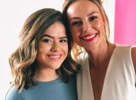 Maisa Silva conhece Paolla Oliveira e posta foto com atriz: 'Você é demais'