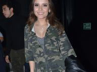 Militarismo! Larissa Manoela usa macacão camuflado e coturno em evento. Fotos