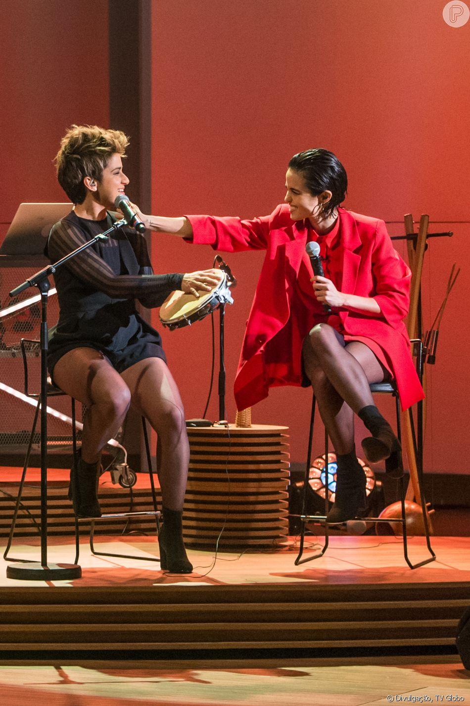 Nanda Costa e Lan Lahn participaram do Grammy Latino que aconteceu na noite de 15 de novembro de 2018 em Las Vegas