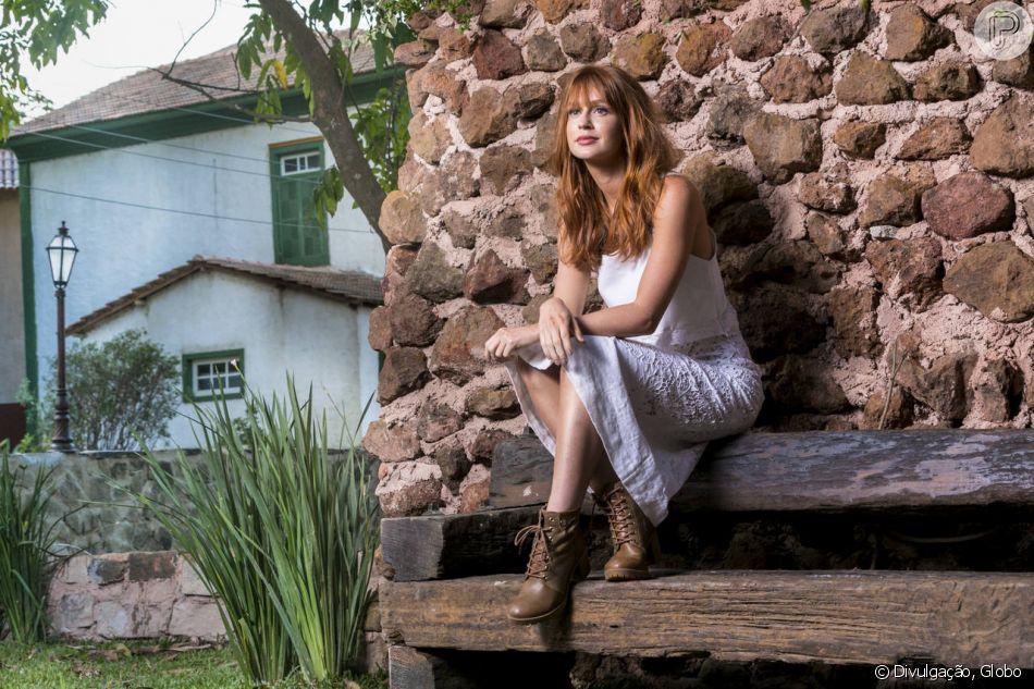 Na novela 'O Sétimo Guardião', o passado de Luz (Marina Ruy Barbosa) será revelado