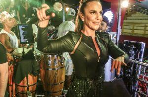 Rainha! Ivete Sangalo ganha coroa de fãs após cantar em micareta de SC. Vídeo!