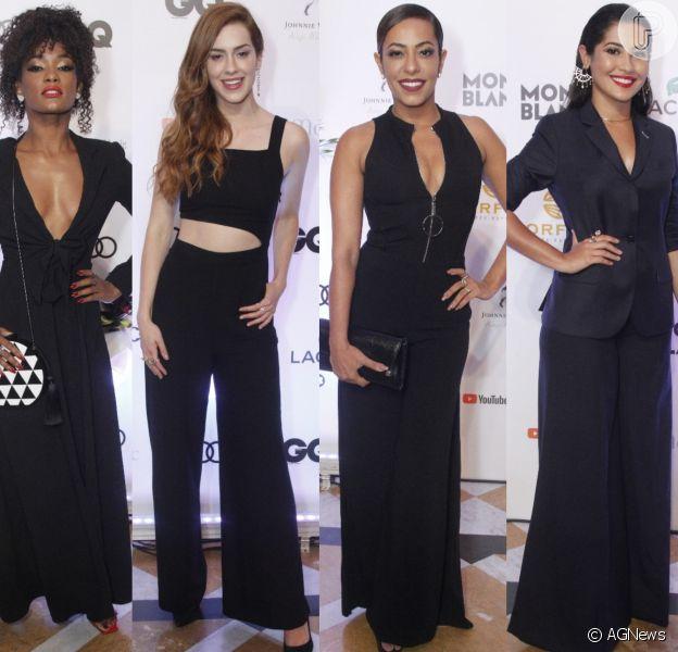 Veja as fotos dos looks das famosas na cerimônia de entrega do 8º prêmio Men of TheYear (MOTY), da 'GQ' Brasil, no Copacabana Palace, no Rio de Janeiro, na noite desta terça-feira, 27 de novembro de 2018