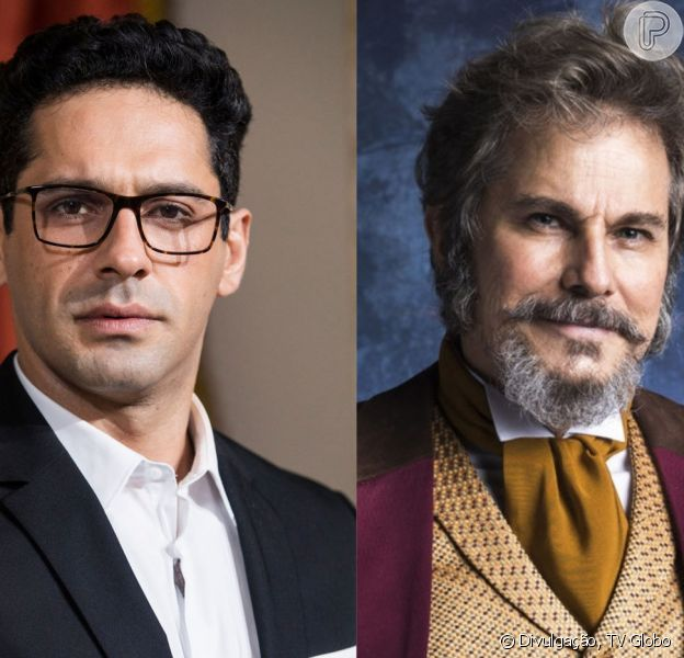 Lúcio (João Baldasserini) promete vingar a morte de seu gêmeo, Emílio (João Baldasserini), ao achar que dom Sabino (Edson Celulari) é o assassino nos próximos capítulos da novela 'O Tempo Não Para': 'Vou destrui-lo'