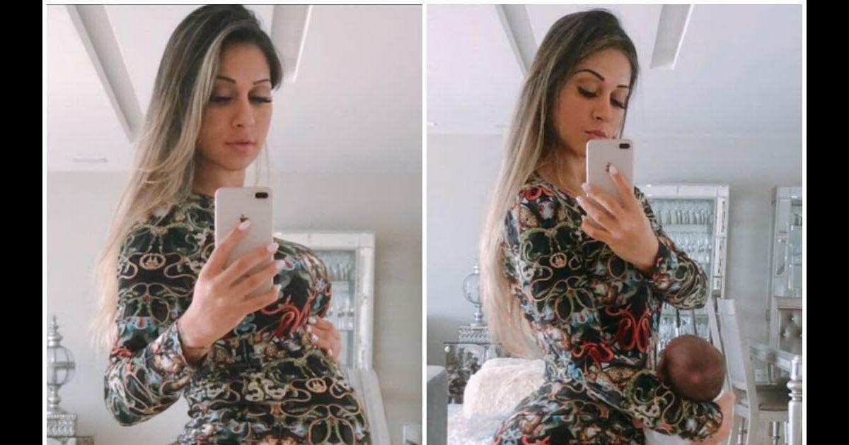 Mayra Cardi incentiva as seguidoras com foto de antes e depois da gravidez  - Purepeople 51a357bfa9