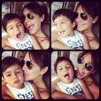 Juliana Knust se declara para o filho: 'Um bolinho com a família para comemorar os 4 anos do nosso amor maior'