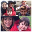 Shakira e Gerard Piqué já são pais de Milan, de 1 ano
