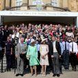 A americana deu show de elegância na comemoração do aniversário do sogro, Príncipe Charles
